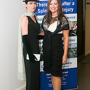No Repro Fee<br /> 02/04/2015<br /> Pictured at the Spinal Injuries Ireland Lunch at the Marker Hotel, Dublin were<br /> Amelia Crowley (left) and Jacqueline Colbert.<br /> Pic: Alan Rowlette
