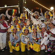 Llamerada World Encounter an indigenous day celebration in 35 cities around the world of Bolivian