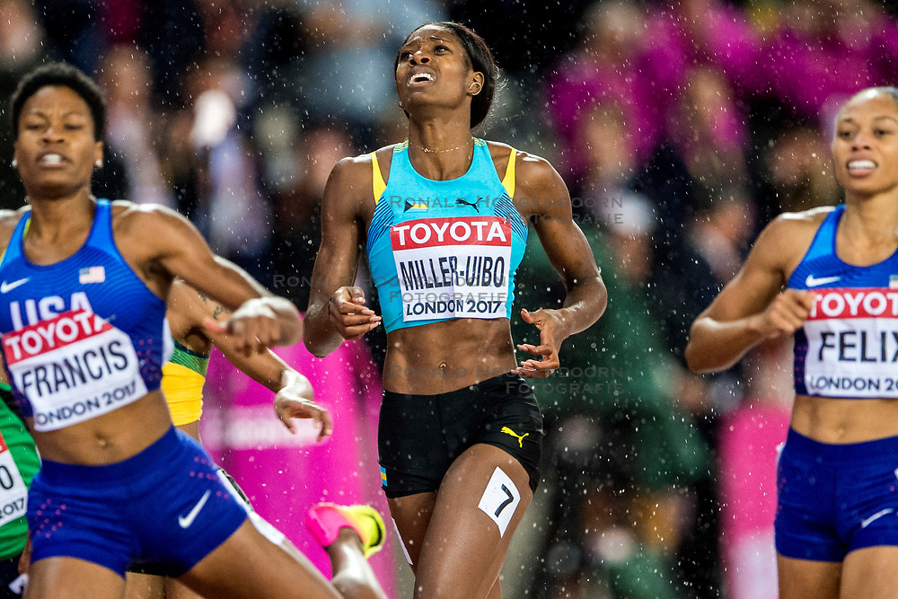 09-08-2017 IAAF World Championships Athletics day 6, London<br /> Shaunae Miller-Uibo BAH, 400 m