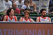 DESCRIZIONE : Campionato 2014/15 Serie A Beko Dinamo Banco di Sardegna Sassari - Grissin Bon Reggio Emilia Finale Playoff Gara6<br /> GIOCATORE : Panchina Grissin Bon Reggio Emilia<br /> CATEGORIA : Ritratto Delusione<br /> SQUADRA : Grissin Bon Reggio Emilia<br /> EVENTO : LegaBasket Serie A Beko 2014/2015<br /> GARA : Dinamo Banco di Sardegna Sassari - Grissin Bon Reggio Emilia Finale Playoff Gara6<br /> DATA : 24/06/2015<br /> SPORT : Pallacanestro <br /> AUTORE : Agenzia Ciamillo-Castoria/C.Atzori