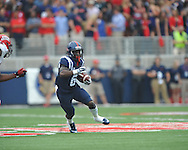 Mississippi Rebels running back Jaylen Walton (6) vs. Louisiana-Lafayette at Vaught-Hemingway Stadium in Oxford, Miss. on Saturday, September 13, 2014. Ole Miss won 56-15 to improve to 3-0.