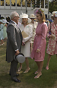 Winston Churchill; Mrs. Martin Gruss; Kate Elaessens; Princess Corinna Sayn-Wittgenstein, ,  Ascot, Tuesday 15 June 2004. ONE TIME USE ONLY - DO NOT ARCHIVE  © Copyright Photograph by Dafydd Jones 66 Stockwell Park Rd. London SW9 0DA Tel 020 7733 0108 www.dafjones.com