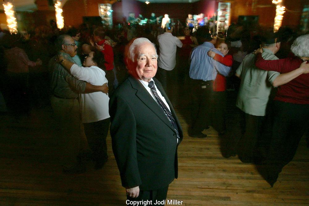Mr. Villafranca ownner of Club Westerner in Victoria, Texas.