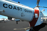 Coast Guard helicopter at Mid-Atlantic Air Museum in Reading, PA
