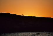 Mountain Biking, Bicycling,  cycling, sunset, California Coast, Pacific Ocean, Ocean, Sunset, California