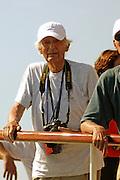 Yacht designer Olin Stephens. 24/6/2005