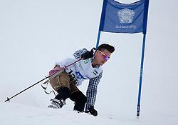 23.01.2012, Planai, Schladming, AUT, FIS Alpin Ski Weltcup, Slalom Herren, Sporthilfe Ski for Gold Promirennen, im Bild Sänger und Volksrocker Andreas Gabalier // ENGL at the Sporthilfe Ski for Gold VIP Race during the FIS World Cup Alpine Skiing at the 'Planai', Schladming, Austria on 2012/01/23, EXPA Pictures © 2012, PhotoCredit: EXPA/ Erwin Scheriau