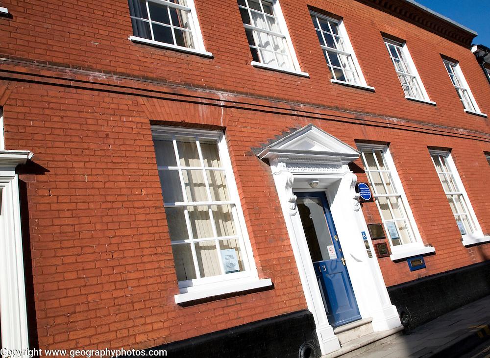 The Admiral's House, Tower Street, Ipswich, Suffolk, England