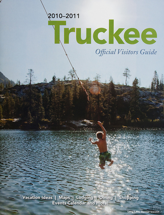 Truckee Visitors Guide Cover