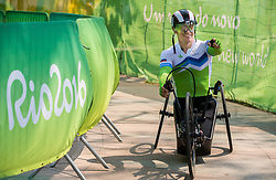 Primoz Jeralic of Slovenia after the Men's Time Trial H5 of Cycling Road competition during Day 7 of the Rio 2016 Summer Paralympics Games on September 14, 2016 in Olympic Aquatics Stadium, Rio de Janeiro, Brazil. Photo by Vid Ponikvar / Sportida