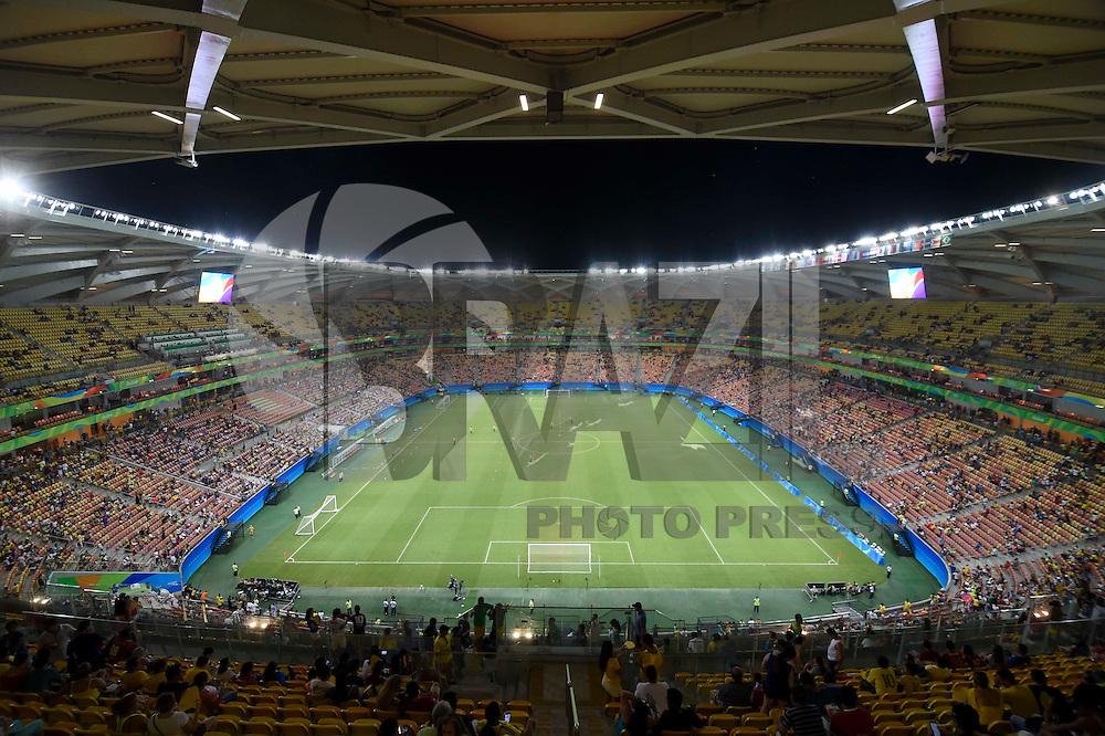 MANAUS, AM, 07.08.2016 - JAPÃO-COLÔMBIA -  Torcida da Colômbia durante partida contra o Japão, válido pelo grupo B dos Jogos Olímpicos Rio 2016, realizada na Arena Amazônia em Manaus, neste domingo, 07.  (Foto: Levi Bianco/Brazil Photo Press)