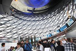 15.07.2011, Olympia Stadion, Muenchen, GER, DTM, DTM Show Event in Muenchen, im Bild Übersicht Innenansicht - Vorstellung des BMW M3 Concept-Car für die DTM 2012 - BMW Welt Doppelkegel - // during the DTM Show ,  on 2011/07/15, Olympia Stadion, Munich, Germany, EXPA Pictures © 2011, PhotoCredit: EXPA/ nph/  Schmitt       ****** out of GER / CRO  / BEL ******