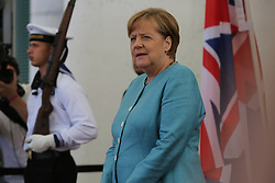 July 19, 2017 - Berlin, Berlin, Germany - Chancellor Angela Merkel receives the British Prince William, Duke of Cambridge, and his wife Catherine, Duchess of Cambridge, in the Chancellery. A joint lunch will provide an opportunity to discuss current bilateral, European and international issues. (Credit Image: © Simone Kuhlmey/Pacific Press via ZUMA Wire)