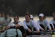 London. GREAT BRITAIN, 2007 Cambridge  University BC trial Eights,  Don WYPER, 7. Sebastian SCHULTE, Stroke. Kieran WEST. cox Russell GLENN. during  the Trial Eights, between Putney and Chiswick  08.12.2006. [Photo, Peter Spurrier/Intersport-images].. Varsity:Boat Race, Rowing Course: River Thames, Championship course, Putney to Mortlake 4.25 Miles