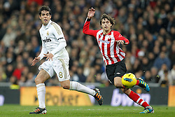 22.01.2012, Santiago Bernabeu Stadion, Madrid, ESP, Primera Division, Real Madrid vs Athletic Bilbao, 1. Spieltag, Nachtrag, im Bild Real Madrid's and Athletic de Bilbao's Ander Iturraspe // during the football match of spanish 'primera divison' league, 1th round, supplement, between Real Madrid and Athletic Bilbao at Santiago Bernabeu stadium, Madrid, Spain on 2012/01/22. EXPA Pictures © 2012, PhotoCredit: EXPA/ Alterphotos/ Cesar Cebolla..***** ATTENTION - OUT OF ESP and SUI *****