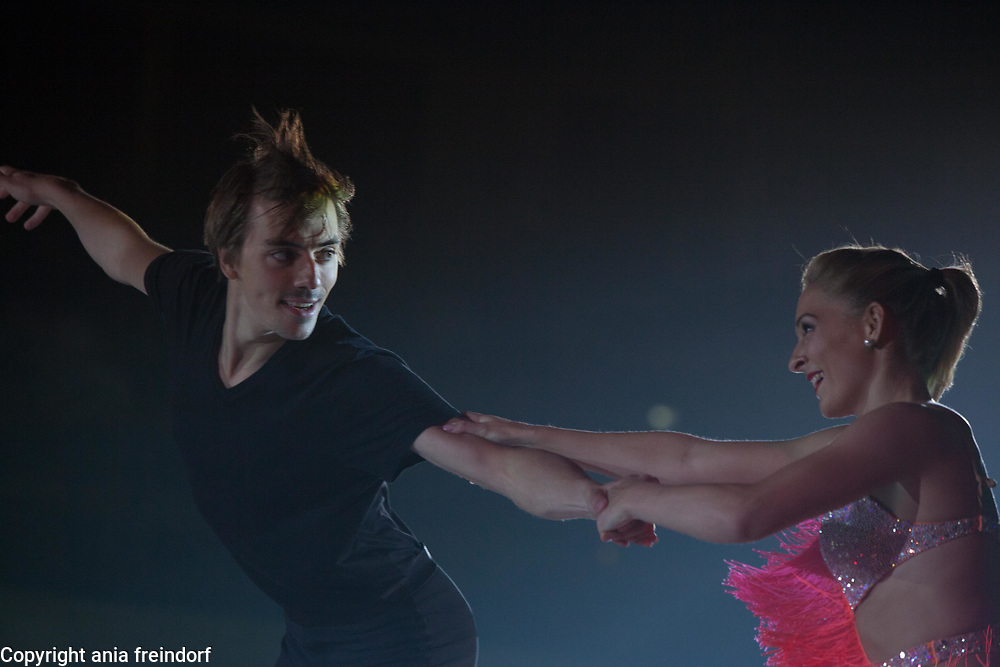 International Ice Skating Gala, Courchevel, France, 20 July 2017, Shari Koch, Christian Nuchtern, Members of National Team, Germany, 3rd Championship of Germany,