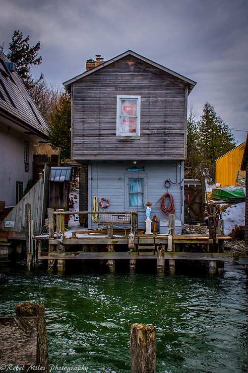 Leland Michigan Fishing Shack