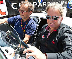 16.07.2011, Groebming, AUT, Ennstal Classic 2011, Chopard Grand Prix, im Bild Marc Surer auf einem BMW // during Chopard Grand Prix at the Ennstal Classic 2011 in Groebming, Austria on 16/7/2011. EXPA Pictures © 2011, PhotoCredit: EXPA/ J. Groder