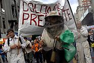 Marcha en defensa a la Tierra y a los bienes Naturales