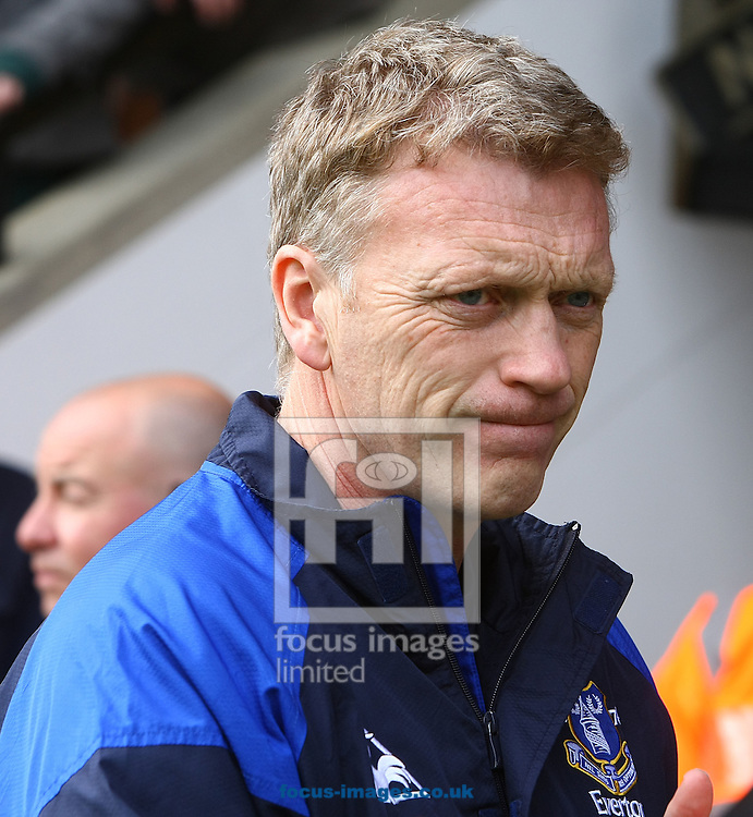 Picture by Paul Chesterton/Focus Images Ltd.  07904 640267.07/04/12.Everton Manager David Moyes before the Barclays Premier League match at Carrow Road Stadium, Norwich.
