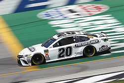 July 13, 2018 - Sparta, Kentucky, United States of America - Erik Jones (20) brings his race car down the front stretch during practice for the Quaker State 400 at Kentucky Speedway in Sparta, Kentucky. (Credit Image: © Chris Owens Asp Inc/ASP via ZUMA Wire)