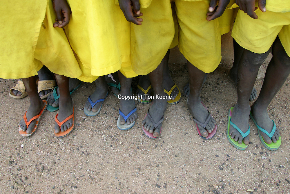 schoolkids in uniform in Nigeria