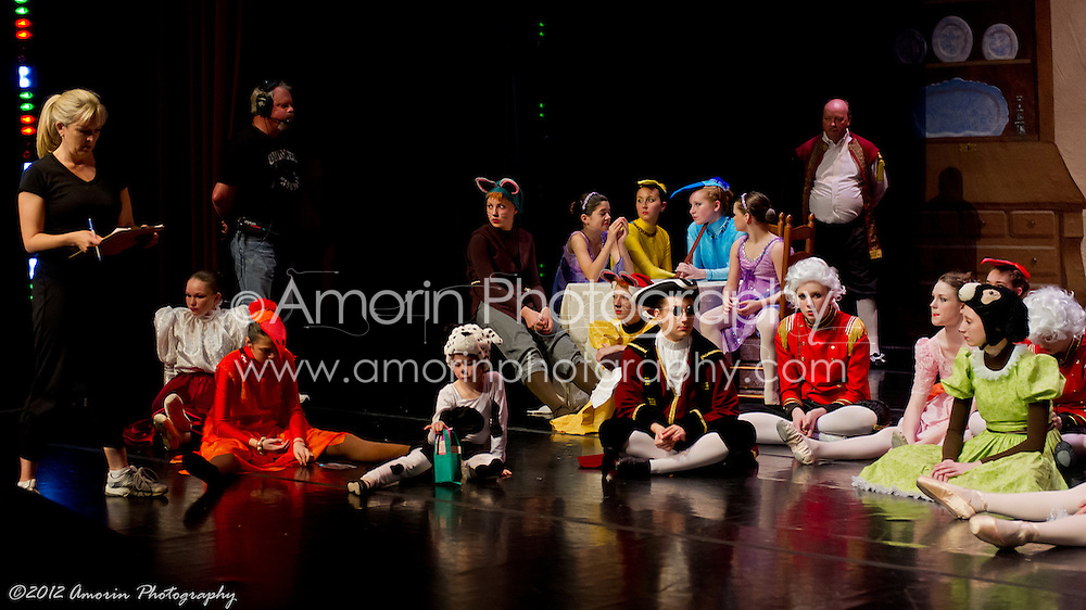 Cinderella Rehearsal Candids