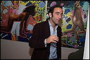 LUCA KHALIL, James Franco exhibition 'Fat Squirrel' at Siegfried Contemporary, Basset Rd, London W10. 23 November 2014.