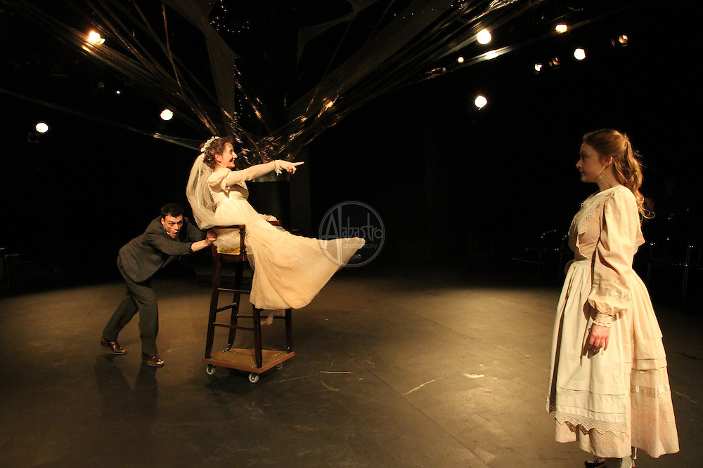 "Book-It Repertory Theatre production of Charles Dickens' classic novel ""Great Expectations"" in February 2011."