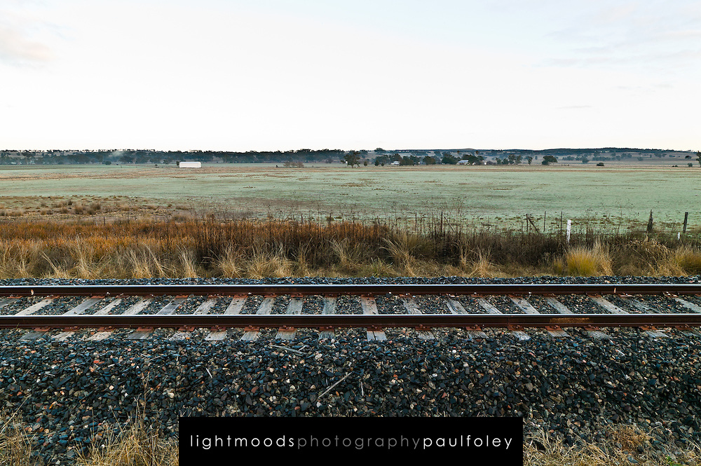 Rail Tracks, Western NSW, Australia