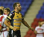 Wigan - Sunday 20th September 2009: Craig Huby of the Castleford Tigers celebrates scoring a try during the Engage Super League Elimination Playoff match between The Wigan Warriors & The Castleford Tigers at the DW Stadium in Wigan. (Pic by Steven Price/Focus Images)