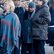 NLD/Amsterdam/20121208 - Herdenkingsdienst voor de verleden Jeroen Willems, John Leerdam en Raymi Sambo