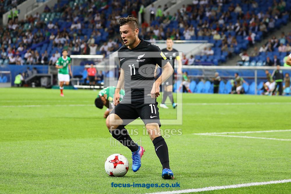 Marco Rojas of New Zealand during the 2017 FIFA Confederations Cup match at Fisht Stadium, Sochi<br /> Picture by EXPA Pictures/Focus Images Ltd 07814482222<br /> 22/06/2017<br /> *** UK &amp; IRELAND ONLY ***<br /> <br /> EXPA-EIB-170622-0057.jpg