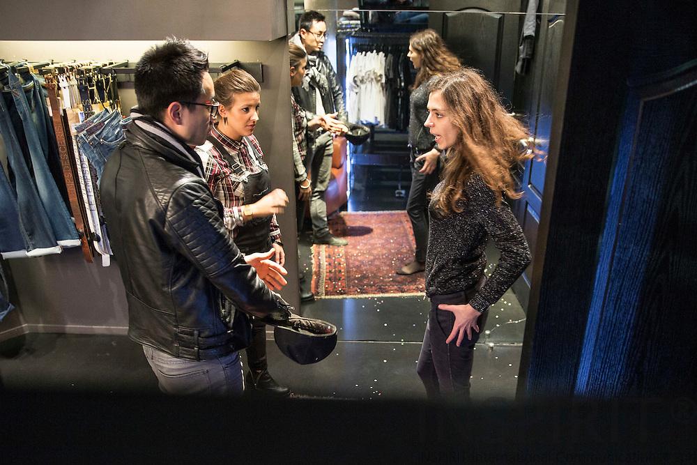 Le Temps des Cerises - Japan Rags Clothing Store at Auguste Ortsstraat in Brussels. Photo: Erik Luntang