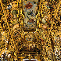 Palais Garnier Opera House Grand Foyer in Paris, France<br />