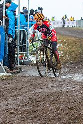 Crystal Anthony (USA), Women Elite, Cyclo-cross World Championships Tabor, Czech Republic, 31 January 2015, Photo by Pim Nijland / PelotonPhotos.com