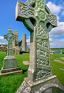 Cross at Clonmacnoise monastic site
