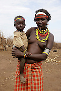 Africa, Ethiopia, Omo Valley, Dassenech tribe