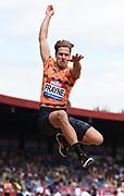 Henry Frayne (AUS) places third in the long jump at 26-3½ (8.01m) during the Grand Prix Birmingham in an IAAF Diamond League meet in Birmingham, United Kingdom, Saturday, Aug. 18, 2018. (Jiro Mochizuki/mage of Sport)