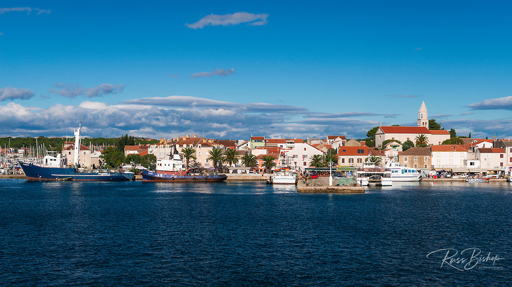 Port town of Biograd na Moru, Dalmatian Coast, Croatia