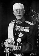 Gustaf V 1858 - 1950) King of Sweden from 1907.