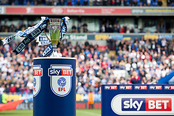 Free to use courtesy of Sky Bet - Bolton Wanderers win the Sky Bet League One runners up trophy to secure automatic Promotion to the 2017/18 Sky Bet Championship - Rogan Thomson/JMP - 30/04/2017 - FOOTBALL - Macron Stadium - Bolton, England - Bolton Wanderers v Peterborough United - EFL Sky Bet League One.