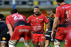 Steffon Armitage of Toulon - Mandatory byline: Patrick Khachfe/JMP - 07966 386802 - 23/01/2016 - RUGBY UNION - The Recreation Ground - Bath, England - Bath Rugby v RC Toulon - European Rugby Champions Cup.