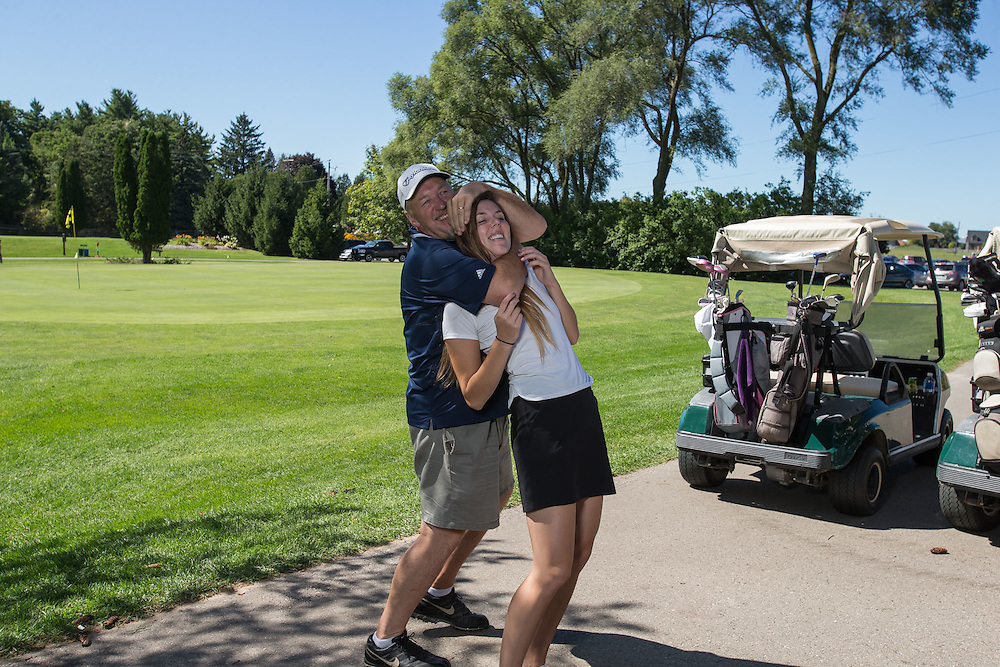Golfers participate in the 2014 St. Thomas Legion  Track and field Tournament at Echo Valley Golf Course in Delaware Ontario, Sunday,  September 7, 2014.<br /> St. Thomas Legion TFC/ Geoff Robins