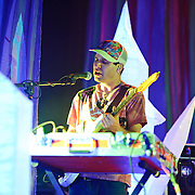 WASHINGTON, DC - July 9th, 2011 - Avey Tare of Animal Collective performs at Merriweather Post Pavilion in Columbia, MD. The band named their eighth studio album after the venue.  (Photo by Kyle Gustafson/For The Washington Post)