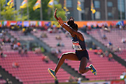 Victoria Josse (FRA) competes in Triple Jump Women during the IAAF World U20 Championships 2018 at Tampere in Finland, Day 6, on July 15, 2018 - Photo Julien Crosnier / KMSP / ProSportsImages / DPPI