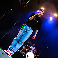 Isak Shorty under Jugendfest 2018 på Color Line Stadion i Ålesund.