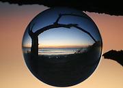 Seascape through the crystal ball.