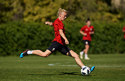ALHAURÍN EL GRANDE, SPAIN - Monday, March 4, 2019: Wales' captain Sophie Ingle during a training session at the at Alhaurin Golf Resort in Spain. (Pic by David Rawcliffe/Propaganda)