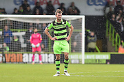 Forest Green Rovers Forward, Christian Doidge (9) during the Vanarama National League match between Forest Green Rovers and Lincoln City at the New Lawn, Forest Green, United Kingdom on 19 November 2016. Photo by Adam Rivers.